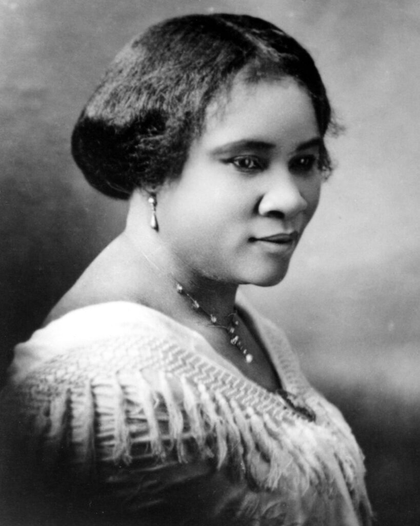 Madam C.J. Walker, primera millonaria afroamericana