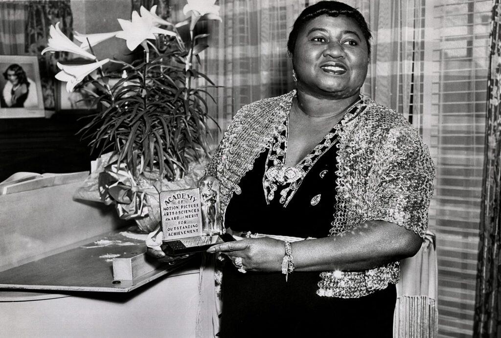 Hattie McDaniel, ganadora del Oscar en 1940