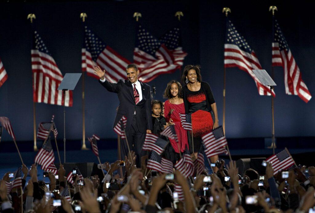 Barack Obama, fue el primer presidente afroamericano en 2008