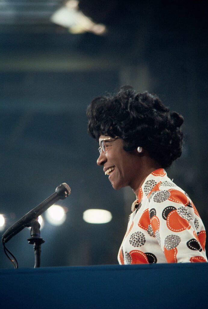 Shirley Chisholm, fue elegida para el Congreso de los Estados Unidos