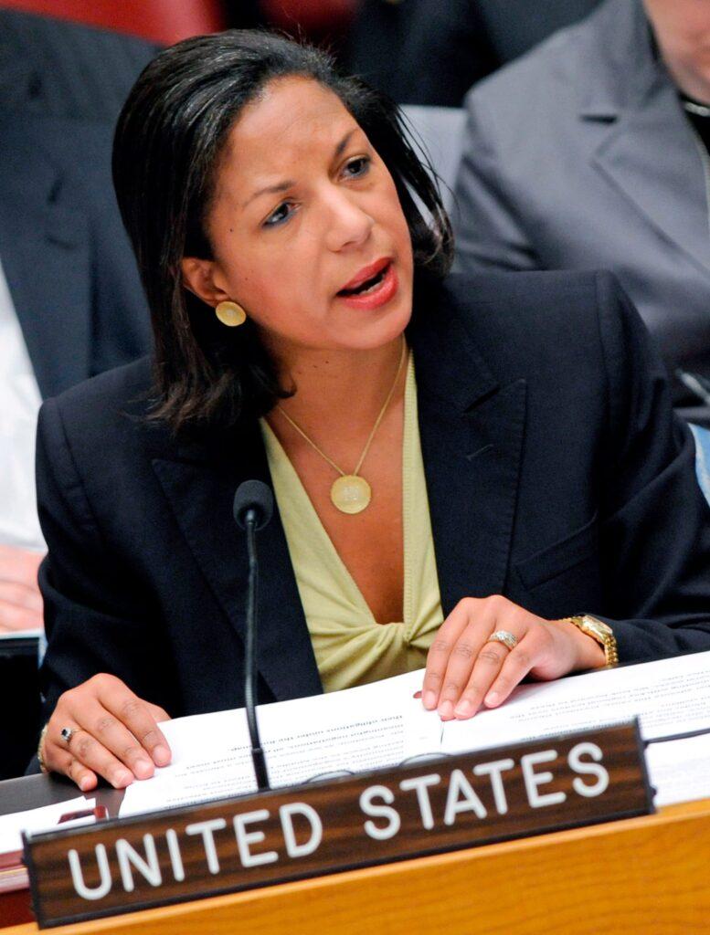 Susan Rice, embajadora de Estados Unidos ante las Naciones Unidas