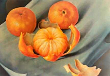 Bodegón Mandarinas