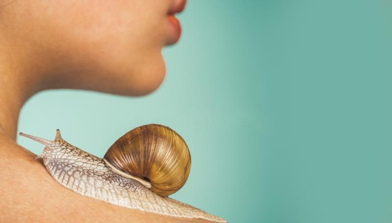 cuidado de la piel con el caracol