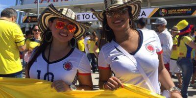 Colombianas en USA
