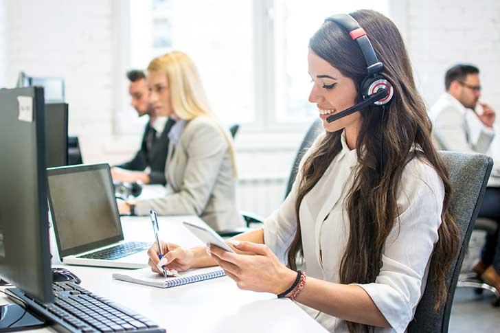 10 Personal de telemarketing
