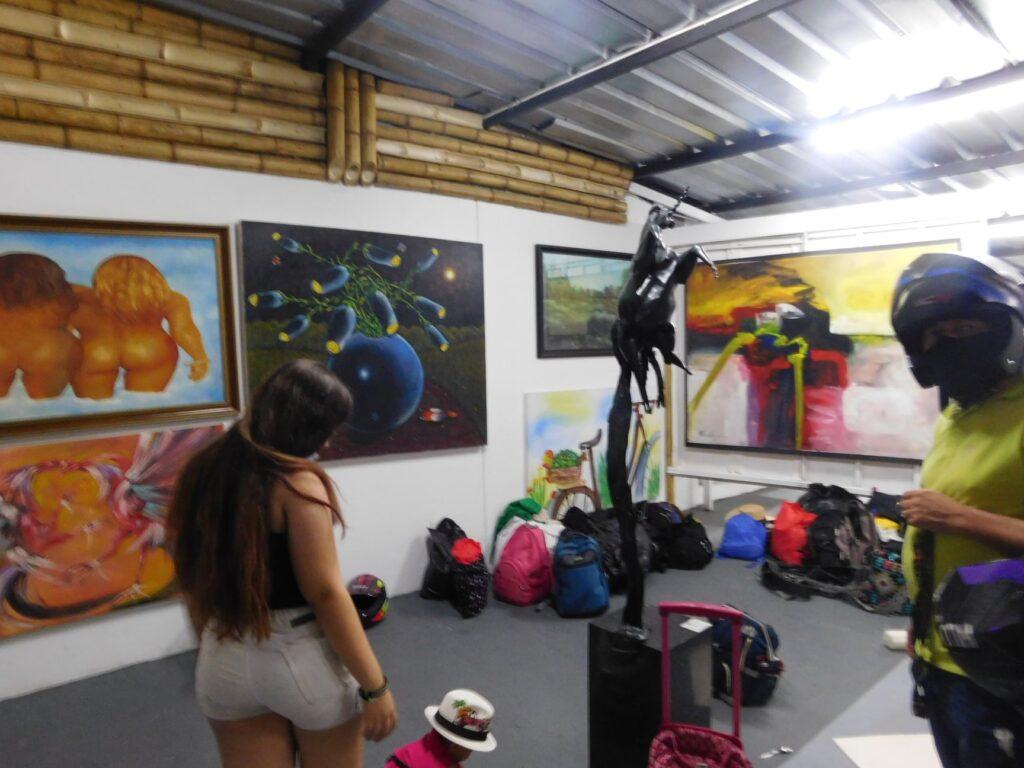 La actividad se desarrolló en Galería Art Café