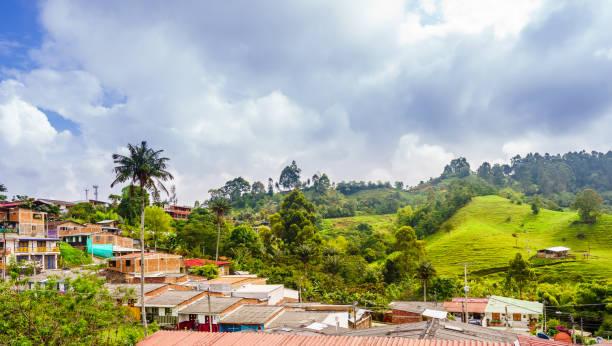 Paisaje urbano de Salento en Colombia