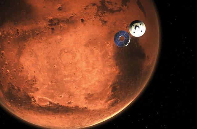 Rover Perseverance en Marte