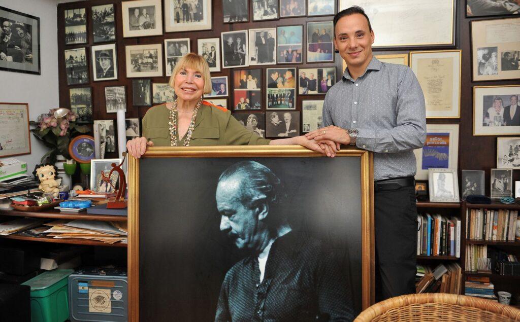 La viuda de Astor Piazzolla, Laura Escalada