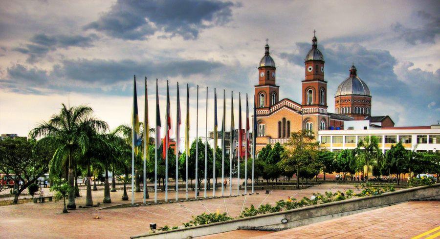 Plaza de Armenia-Colombia