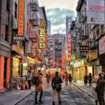 Chinatown, en Manhattan New York