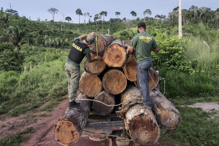 Deforestación en Brazil-Amazonas
