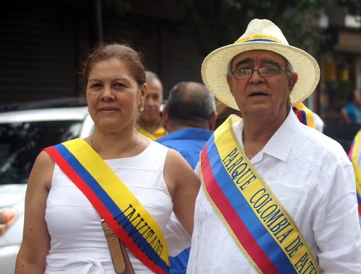Humberto Mesa y su señora