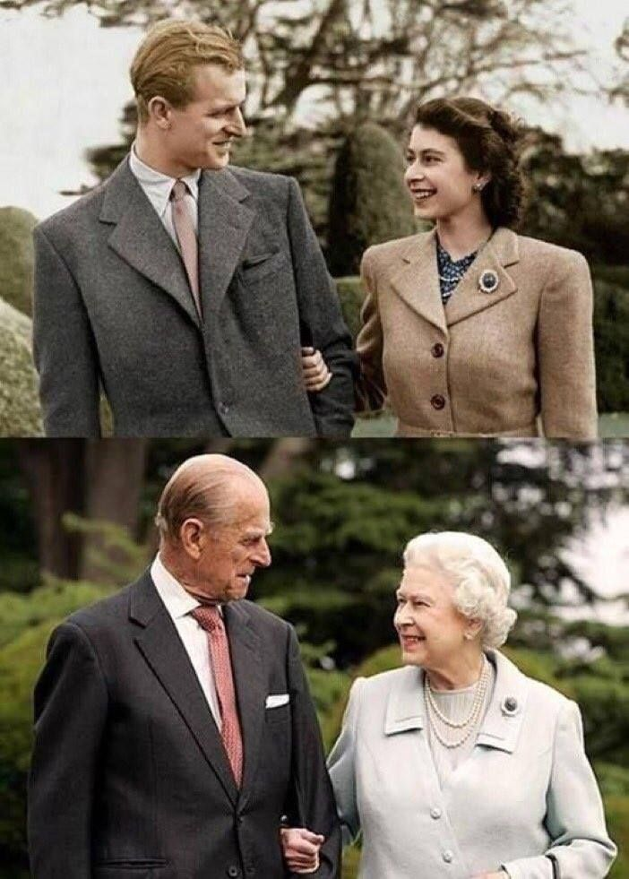 Felipe y la Reina Isabel