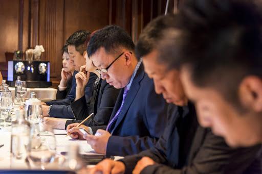 Reunión de empresarios