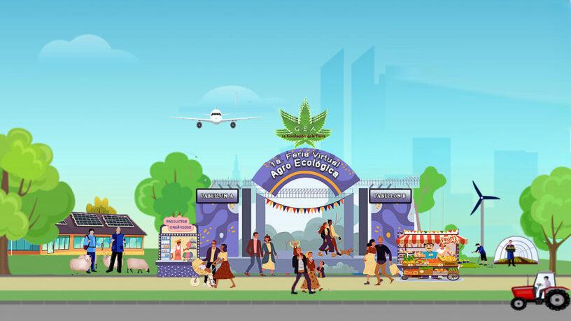 1ª Feria Agro Ecológica digital del Proyecto GEA Colombia