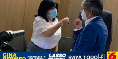 Gina Bermeo de Bolaños, candidata a la Asamblea del Ecuador