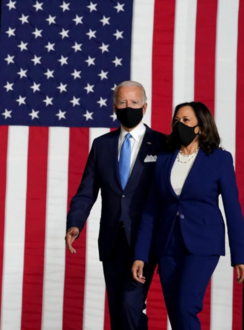 Joe Biden, Presidente y Kamala Harris, Vicepresidente