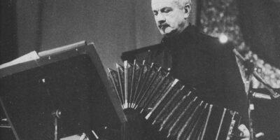 Astor Piazzolla en México, en 1983