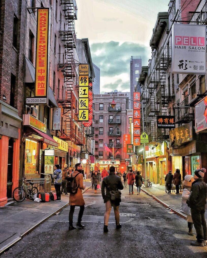 Chinatown, en Manhattan New York